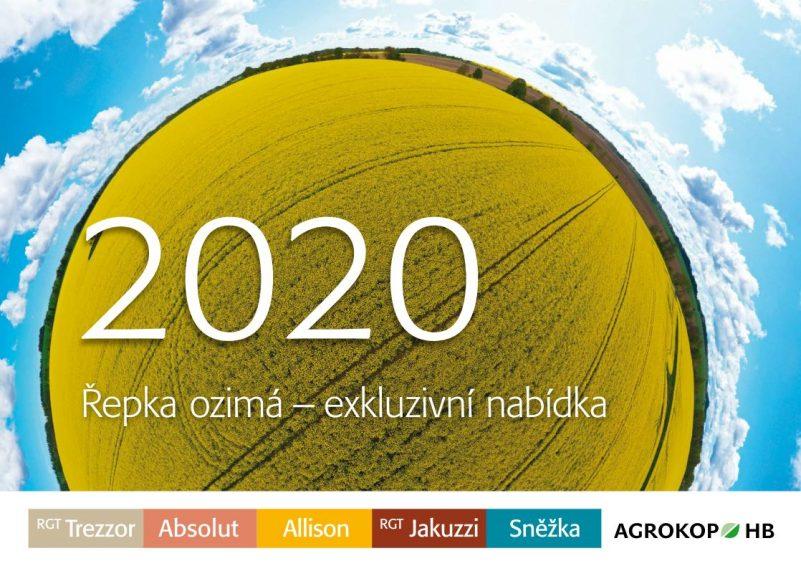 Řepka ozimá nabídka AGROKOP HB 2020
